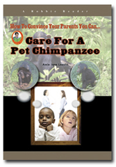 Care for a Pet Chimpanzee